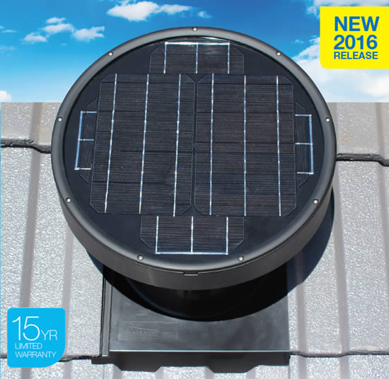 MaxBreeze Solar Powered Roof Ventilation