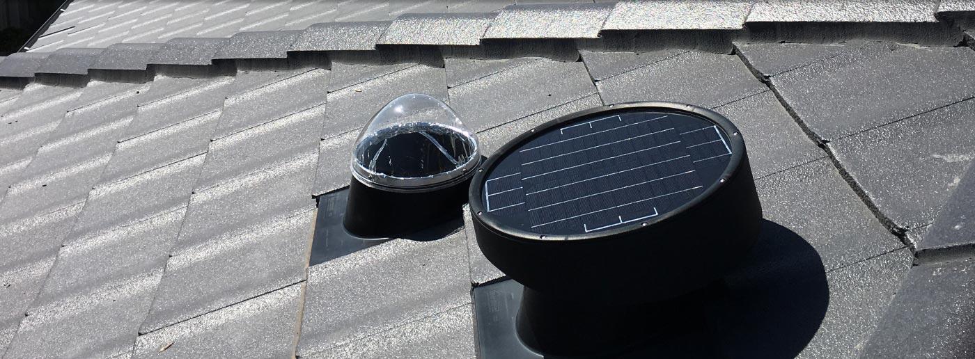 Maxbreeze Solar Powered Roof Ventilation | Solar Bright