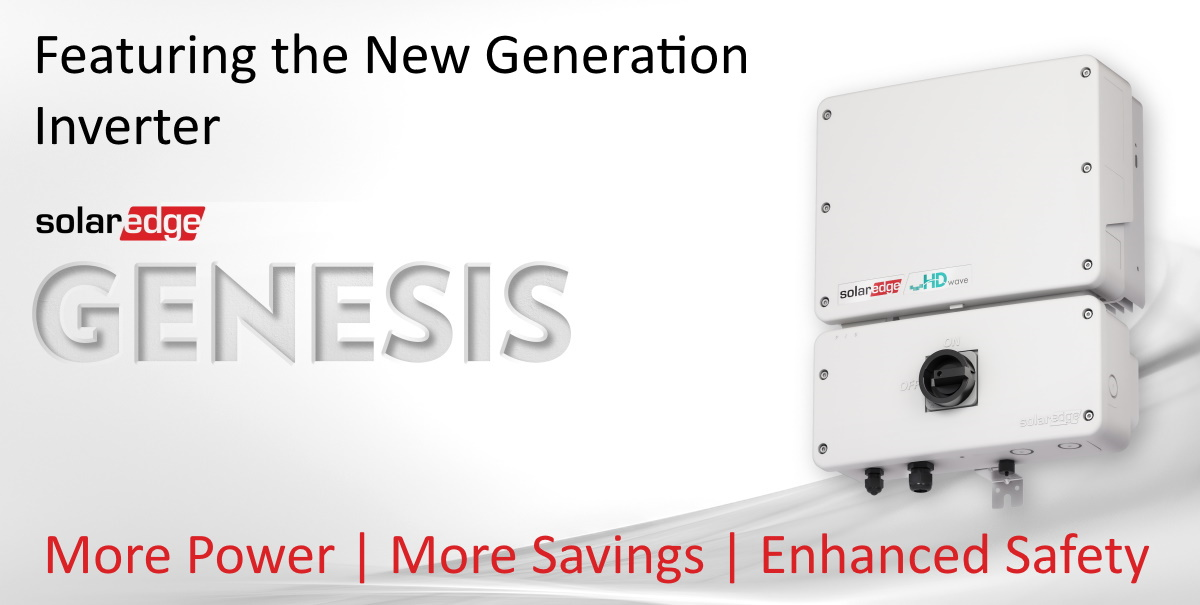SolarEdge HD-Wave Genesis single phase inverter
